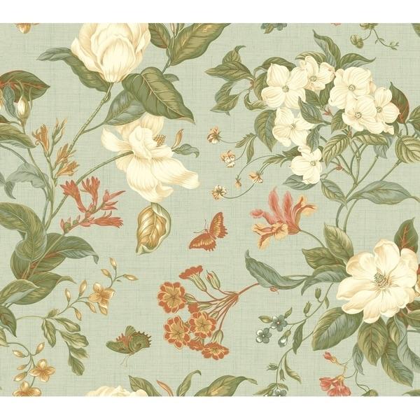 Garden Images Wallpaper 27 in. x 27 ft. 60.75 sq.ft.
