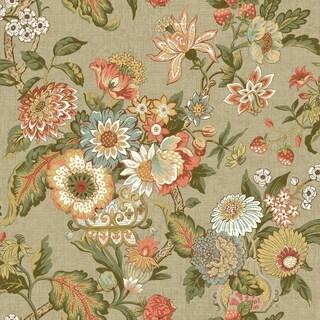 Graceful Garden Wallpaper 20.5 in. x 33 ft. 56sq.ft