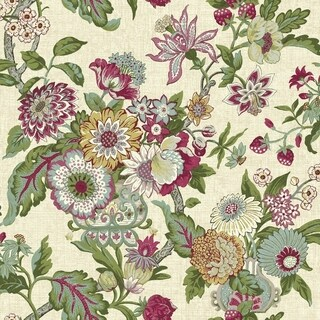 Graceful Garden Wallpaper 20.5 in. x 33 ft. 56sq.ft