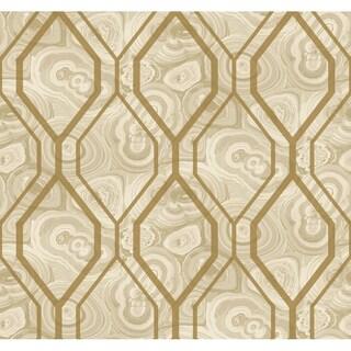 Malachite Trellis Wallpaper 27 in. x 27 ft. 60.75 sq.ft.