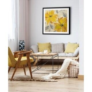 Floral Joy -Framed Giclee Print