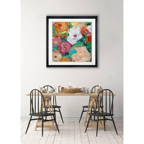 Spring Bright Medley -Framed Giclee Print