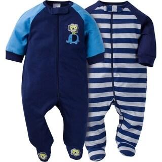 Gerber Zip Front Sleep 'n Play Safari - 2 Pack - Newborn