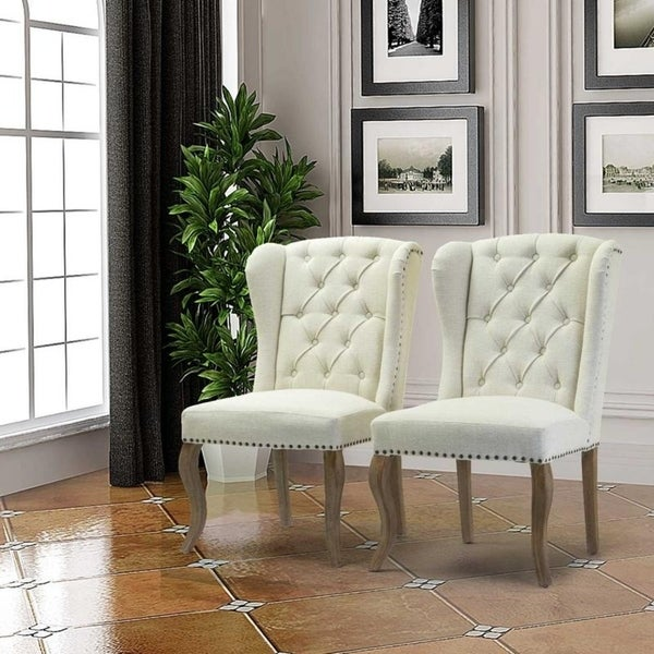 Set Of 2 Living Room Accent Chairs.Shop Larson Accent Chair Set Of 2 26 D X 22 W X 39 H Free