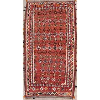 "Copper Grove Skovby Hand Woven Wool Geometric Persian Rug For Hallway - 9'11"" x 5'5"""