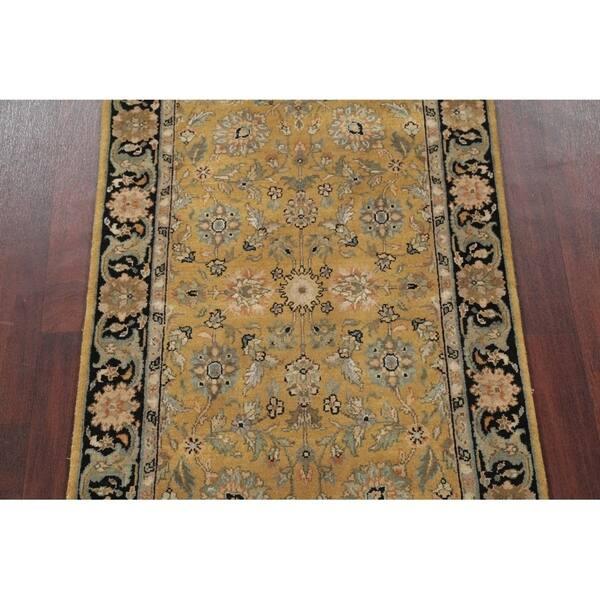 Fl Agra Indian Oriental Wool Rug