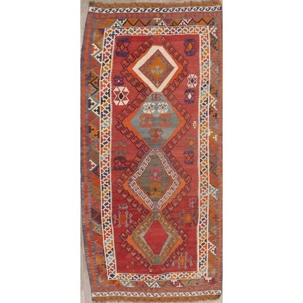 "Copper Grove Saeby Hand Woven Wool Geometric Persian Rug - 9'6"" x 4'7"""