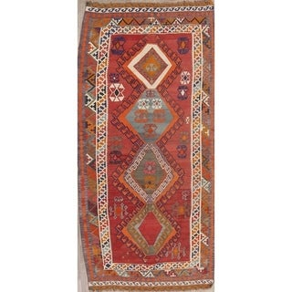 "Copper Grove Saeby Hand Woven Wool Geometric Persian Rug - 9'6"" x 4'7"""