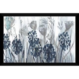 """Indigo Field"" by Susan Jill Print on Acrylic - Blue"