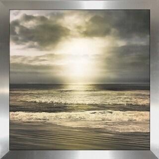 """Sun's Grace"" by Mike Calascibetta Print on Acrylic - gray"