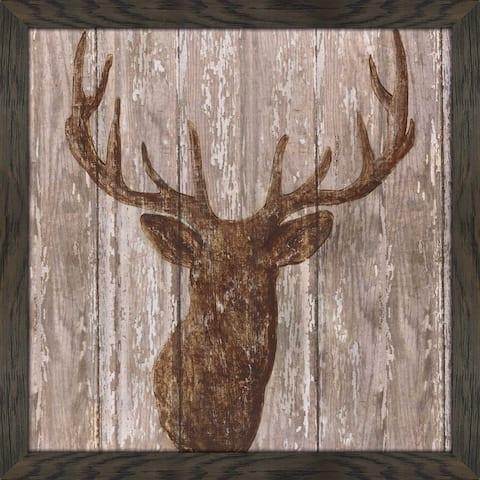 """Majestic Deer"" by Tava Studios Print on Acrylic - Brown"