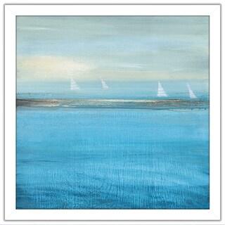 """Waiting On The Wind II"" by Susan Jill Print on Acrylic - Blue"