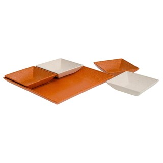 Eco-Friendly 5-Piece Serving and Snack Set