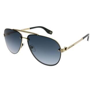 Marc Jacobs Aviator Marc 317 S 2F7 9O Unisex Antiqued Gold Frame Dark Grey  Gradient bec63e7abb73