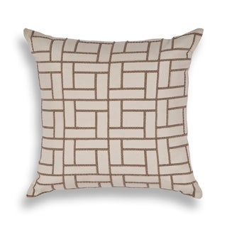 Tan Brick By Brick 20 x 20 Pillow