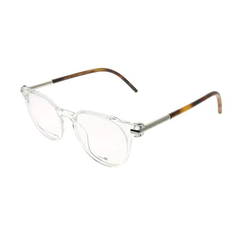 Marc Jacobs Round Marc 51 TPD Unisex Crystal Frame Eyeglasses