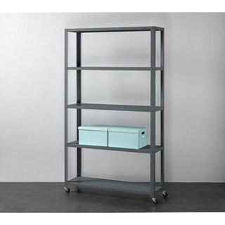 5-Tier Metal Bookcase