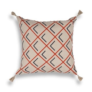 Tangerine Cooper Square 20 x 20 Pillow