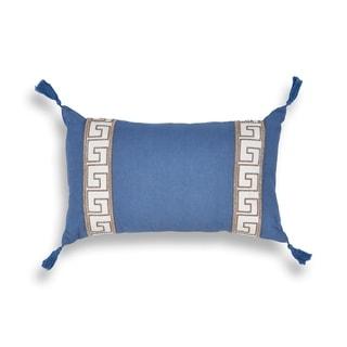 Ocean Greek Key 12 x 20 Pillow