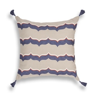 Blue Featherstone 20 x 20 Pillow