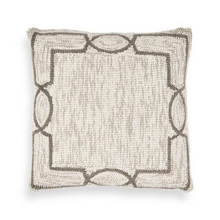 Oatmeal Madison 18 x 18 Pillow