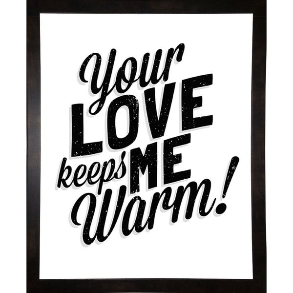 "Your Love Keeps Me Warm Classic-SCOORR121554 Print 10""x8"" by Scott Orr"