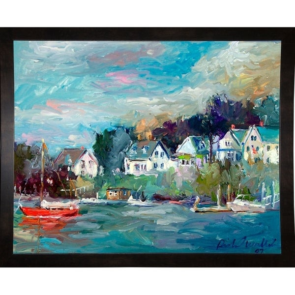"Dock-RICWAL90895 Print 6.5""x8.25"" by Richard Wallich"