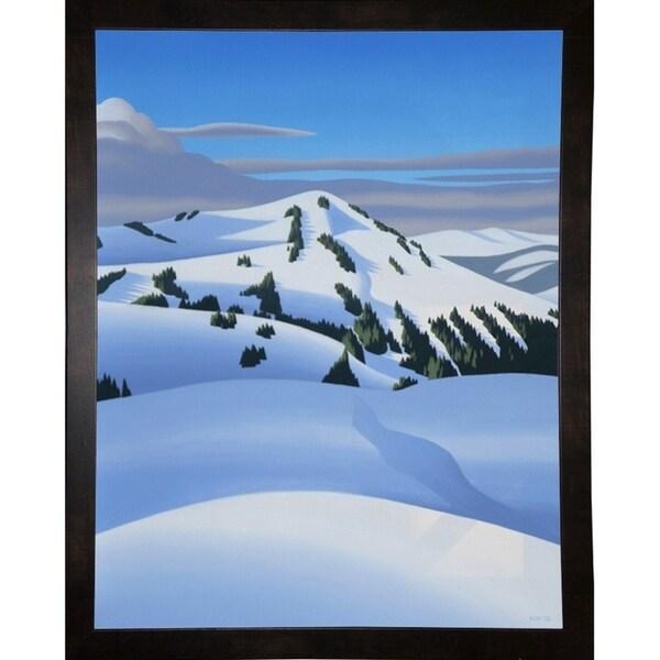 """White Mountain-RONPAR71209 Print 7.75""""x6"""" by Ron Parker"""