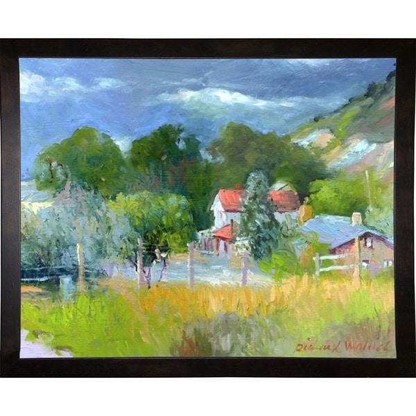 "Rooney Ranch 6-RICWAL34353 Print 10.75""x13.5"" by Richard Wallich"
