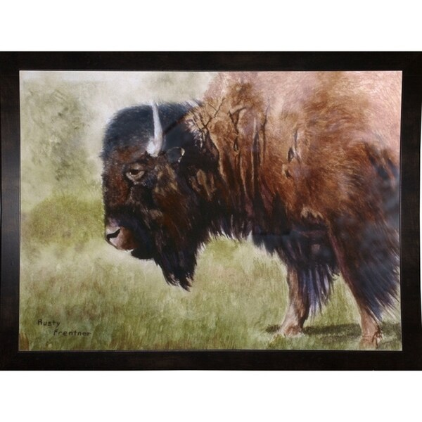 "Buffalo-RUSFRE2618 Print 21.5""x29"" by Rusty Frentner"