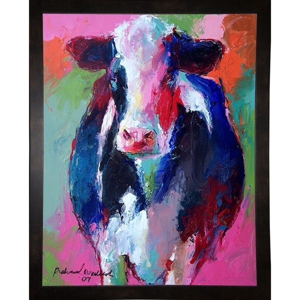 "Cow-RICWAL72747 Print 8.75""x6.75"" by Richard Wallich"