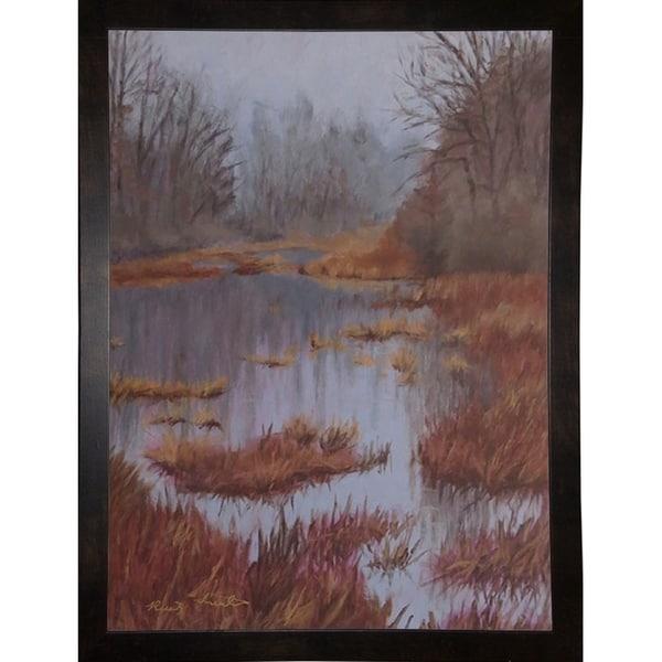 "Wetland, Kensington-RUSFRE128934 Print 9""x6.5"" by Rusty Frentner"