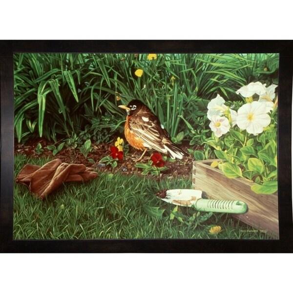 """Planting Out-RONPAR7989 Print 24""""x33.75"""" by Ron Parker"""