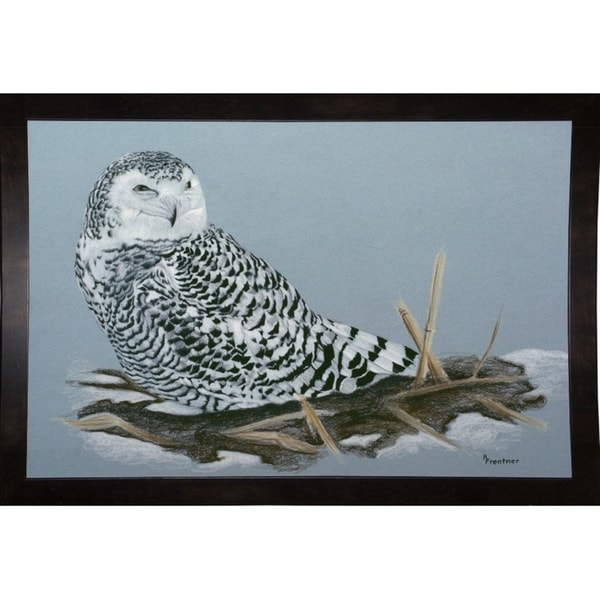 """Owl-RUSFRE1072 Print 23.25""""x35"""" by Rusty Frentner"""