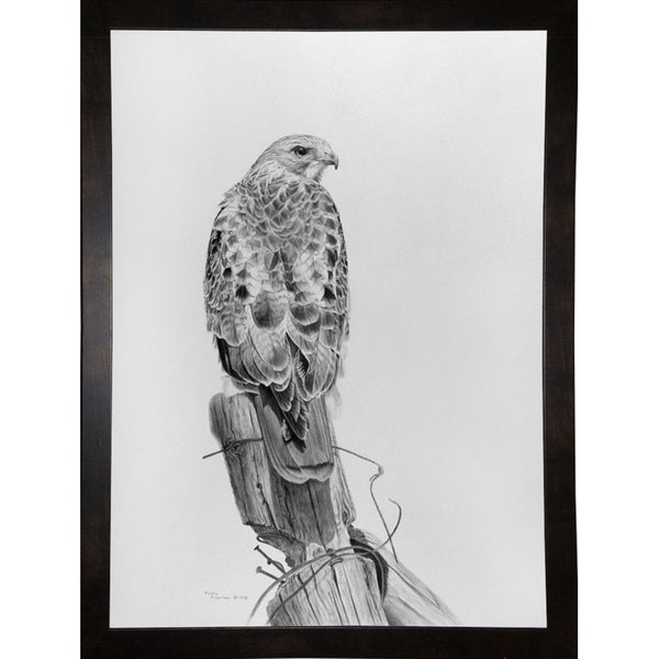 """Lookout-RUSFRE2613 Print 40.75""""x29.75"""" by Rusty Frentner"""