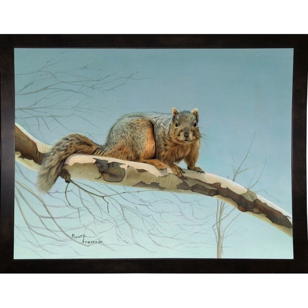 """Are You Nuts-RUSFRE1109 Print 30""""x39.5"""" by Rusty Frentner"""