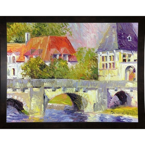 "Brantome Bridge-RICWAL12594 Print 11""x14"" by Richard Wallich"