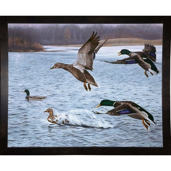 "Spring Arrivals-RUSFRE1106 Print 25.25""x31.5"" by Rusty Frentner"