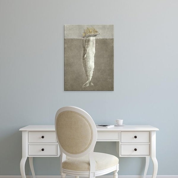 Easy Art Prints Terry Fan's 'Revenge Of The Whale' Premium Canvas Art