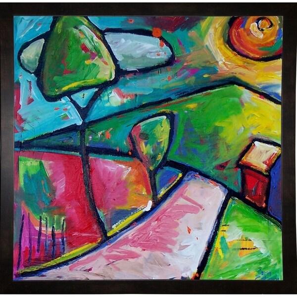 "Brilliant Landscape-SARCAT96486 Print 10.75""x11"" by Sara Catena"