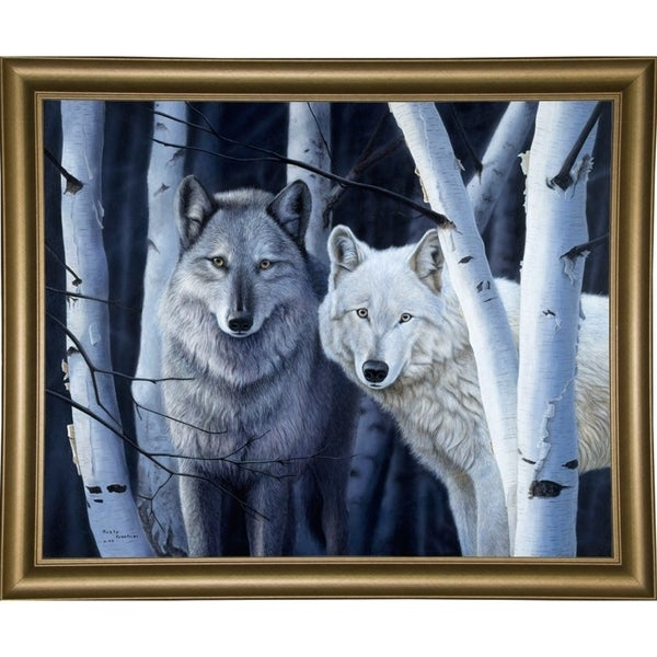 "The Eyes Have It-RUSFRE13446 Print 21""x26.25"" by Rusty Frentner"