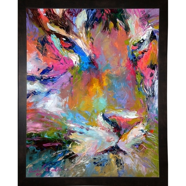 "Tiger-RICWAL91590 Print 9""x7"" by Richard Wallich"