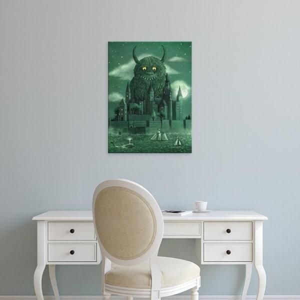 Easy Art Prints Terry Fan's 'Age Of The Giants' Premium Canvas Art