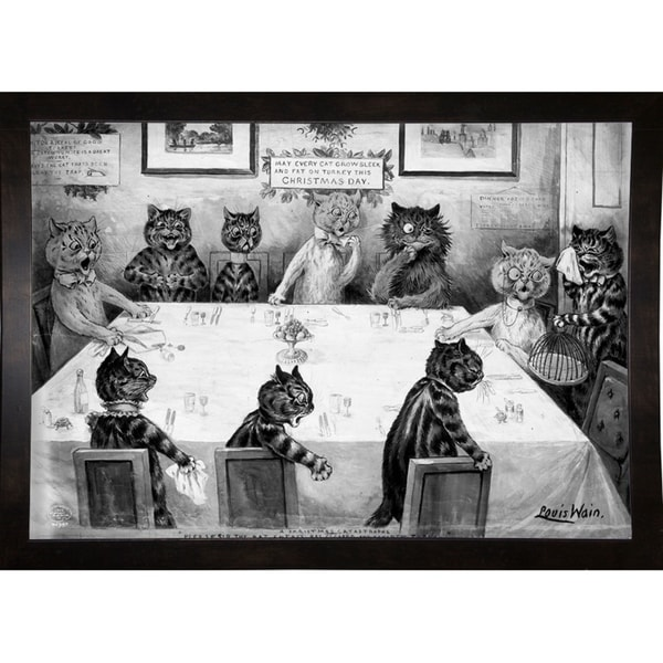 "A Christmas Catastrophe-PRIPUB131071 Print 21.5""x30.75"" by Print Collection"