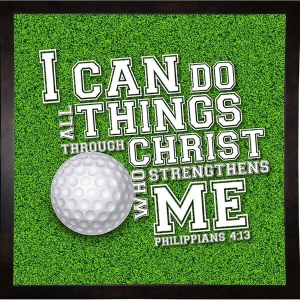 "I CAN DO ALL SPORTS Golf-SCOORR119222 Print 10""x10"" by Scott Orr"