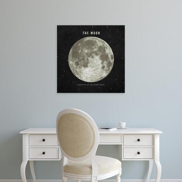 Easy Art Prints Terry Fan's 'The Moon' Premium Canvas Art