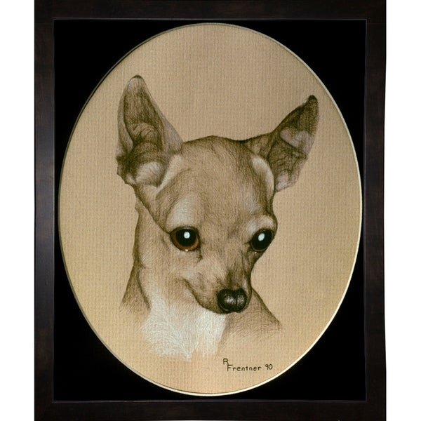 "Dog Nine-RUSFRE1100 Print 25.5""x20.75"" by Rusty Frentner"