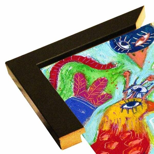 """Birds Gone Crazy 2-SARCAT106431 Print 11.25""""x22.75"""" by Sara Catena"""