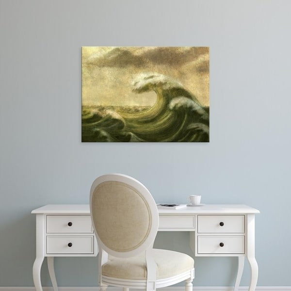 Easy Art Prints Terry Fan's 'Wave' Premium Canvas Art