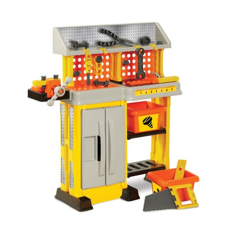 First Impressions Little Builder Work Bench Playset